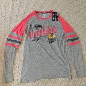 $5 NWT FINAL PRICE Chicago Blackhawks Long Sleeves
